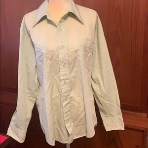 Vintage men's Simpatico casual shirt Sz L (17 1/2)